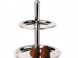 Этажерка с двумя тарелками AMBASSADOR