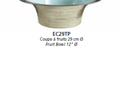 Manufacture de Monaco Чаша для фруктов Platine - Turquoise