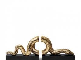 Snake Gold Книгодержатель