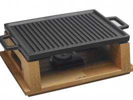 Сковорода - гриль на подставке, 22Х30 СМ